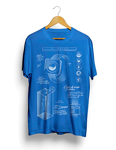 Camiseta A-Watch - Trascendental